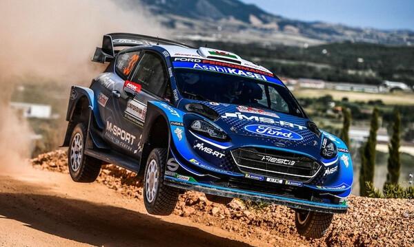 WRC: Έκανε «πάρτι» ο Έβανς στη Σουηδία