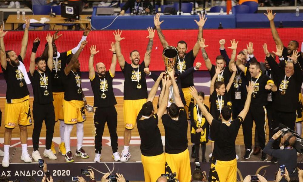 Κύπελλο Ελλάδας: Η «στέψη» της ΑΕΚ και τα ρεκόρ της Ένωσης (videos+photos)