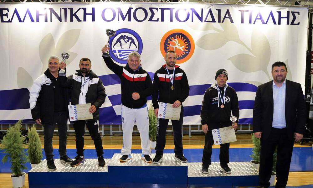 Οι Λεωντίδες πρωταθλητές Ελλάδας Παίδων στην ελληνορωμαϊκή
