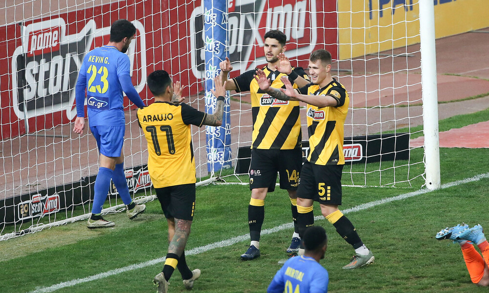 ΑΕΚ-Παναιτωλικός 4-0: Προκρίθηκε με... τεσσάρα (photos+videos)