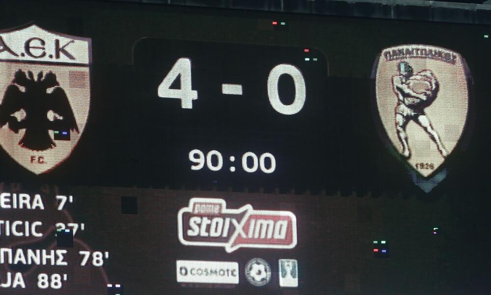 ΑΕΚ-Παναιτωλικός 4-0: To «καρέ» της πρόκρισης (photos+video)