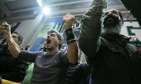 Παναθηναϊκός - Ολυμπιακός: Το ξέσπασμα και οι πανηγυρισμοί του Δημήτρη Γιαννακόπουλου