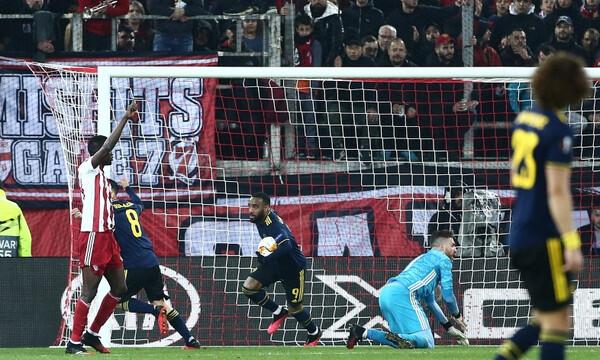 Ολυμπιακός-Άρσεναλ 0-1: Τον «πλήγωσε» ο Λακαζέτ (photos&video)