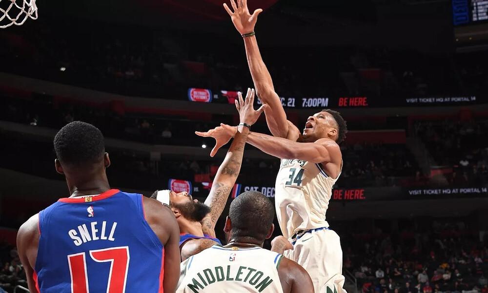 NBA: Επέστρεψε με... όργια ο Αντετοκούνμπο! (video)