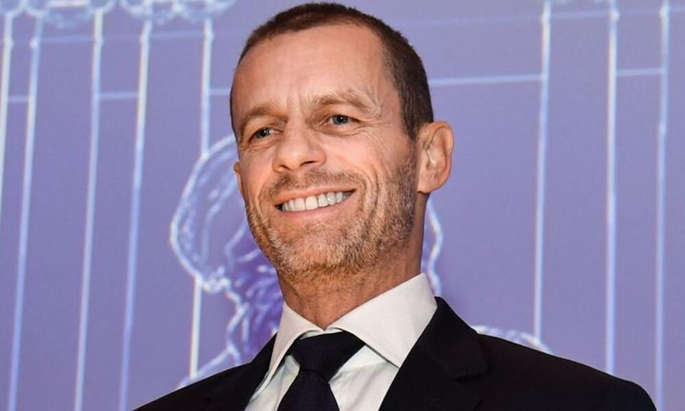 Τη Δευτέρα στην Αθήνα ο πρόεδρος της UEFA