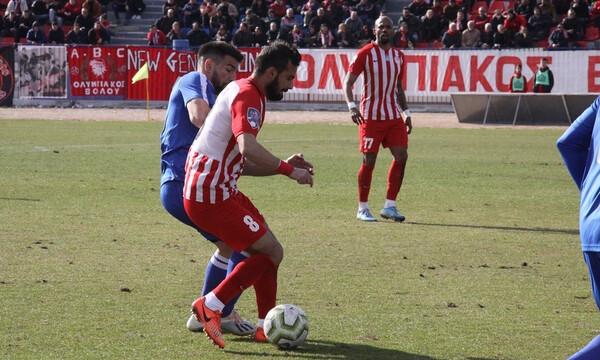 Football League: Ισόπαλο το ντέρμπι του Βόλου