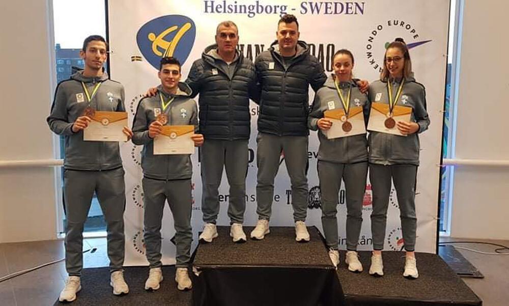 Helsingborg Open G1: Χαλκός επί… τέσσερα για προολυμπιακή ομάδα, παρά την κούραση
