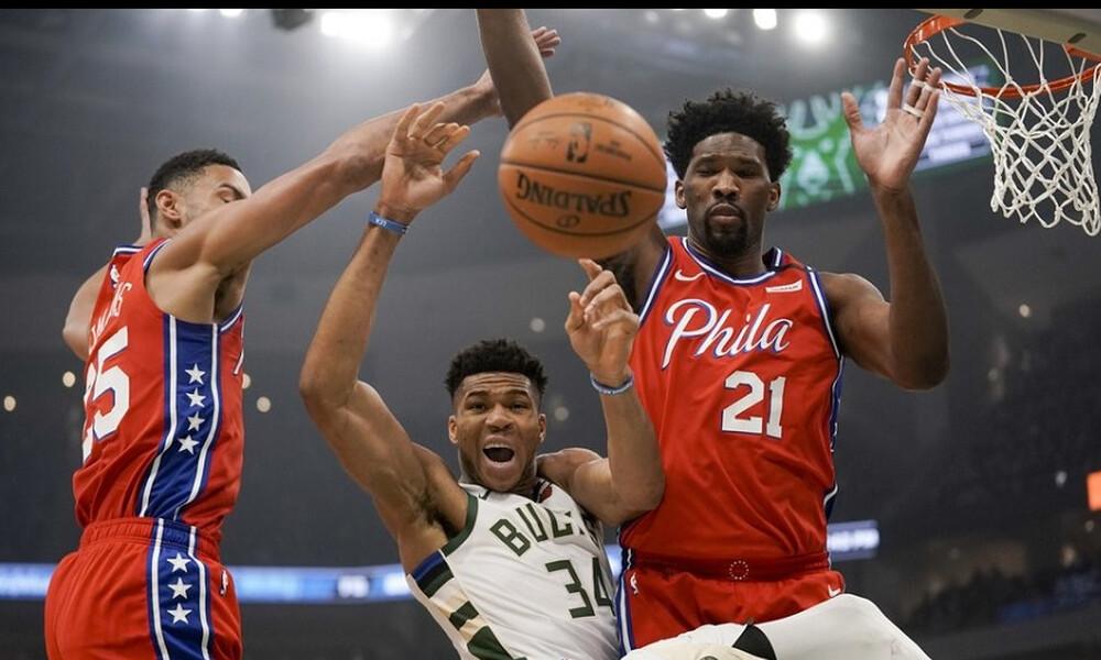 NBA: Επιδόσεις... θρύλου από τον Γιάννη Αντετοκούνμπο (video)