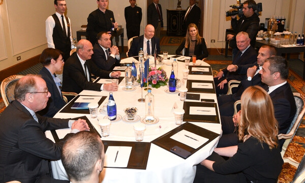 Τα είπε με ΕΠΟ ο πρόεδρος της UEFA, το πρωί της Τρίτης η συνάντηση με Μητσοτάκη