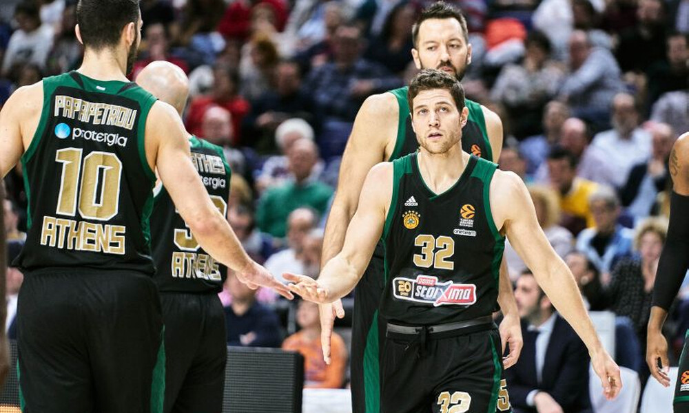 Euroleague: Η βαθμολογία μετά την ήττα του Παναθηναϊκού στη Μαδρίτη