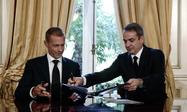 FIFA-UEFA και Κυβέρνηση υπέγραψαν το μνημόνιο συνεργασίας (photos)