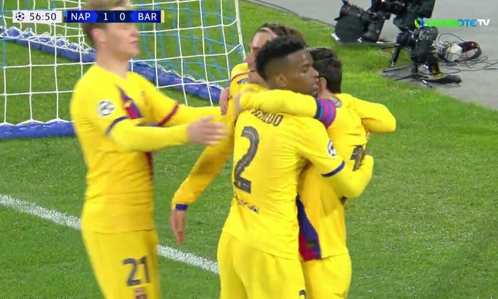 Champions League: «Την έκρυψε» η Μπαρτσελόνα, ισοφάρισε ο Γκριζμάν (video)