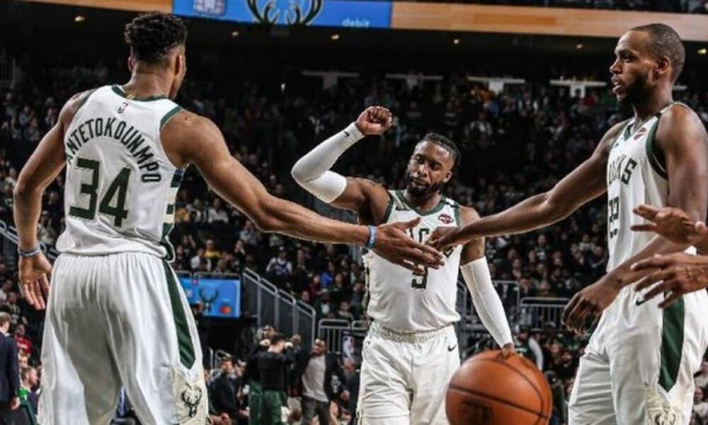 NBA: Οι Μπακς με 50-8 ρεκόρ μπήκαν σε μία ιδιαίτερη λίστα (photo+video)