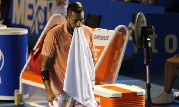 Mexican Open: Κράξιμο στον Κύργιο για την απόσυρση του! (videos)