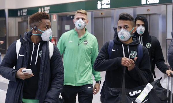 Λουντογκόρετς: Στο Μιλάνο με μάσκες και γάντια λόγω κορωναϊού