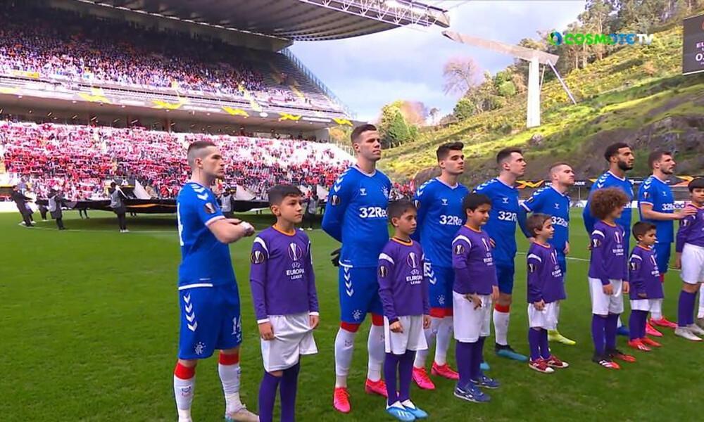 Europa League: Μάγκικο διπλό των Ρέιντζερς στη Μπράγκα και πρόκριση (video)