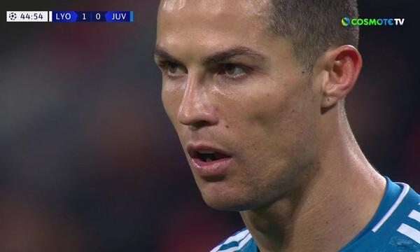 Champions League: Πήγε για… γκολ έπος ο Ρονάλντο, σκόραρε τελικά η Λιόν! (videos)