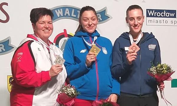 Νέα επιτυχία για την Άννα Κορακάκη στο Ευρωπαϊκό πρωτάθλημα Όπλων