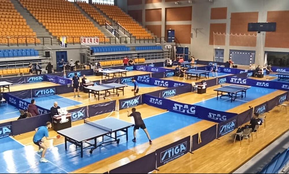 Πινγκ πονγκ: Απρόβλεπτα αποτελέσματα στην πρώτη μέρα του Πανελληνίου πρωταθλήματος