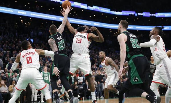 NBA: Σούπερ Ρόκετς μέσα στη Βοστώνη (video)