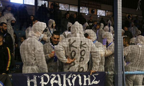 Κοροναϊός: Επικό τρολάρισμα των οπαδών του Ηρακλή (video+photos)