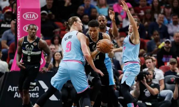 NBA: Χαμηλά ο Γιάννης, ήττα για Μπακς (video)