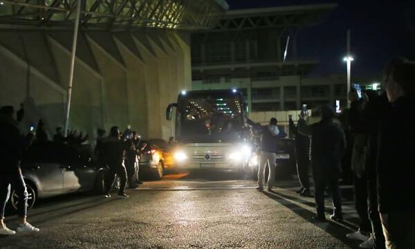 Ολυμπιακός-Παναθηναϊκός ΟΠΑΠ: Η «πράσινη» αναχώρηση με Γιαννακόπουλο (photos)