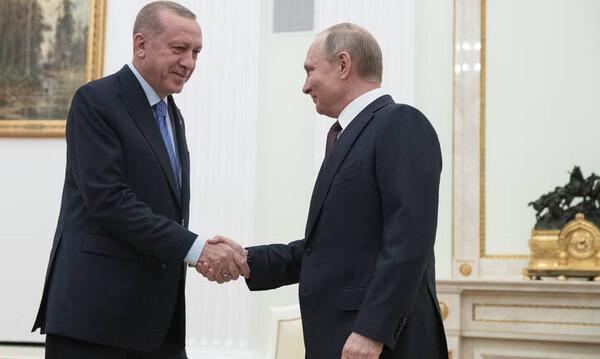 Ιντλίμπ: Πούτιν - Ερντογάν συμφώνησαν εκεχειρία