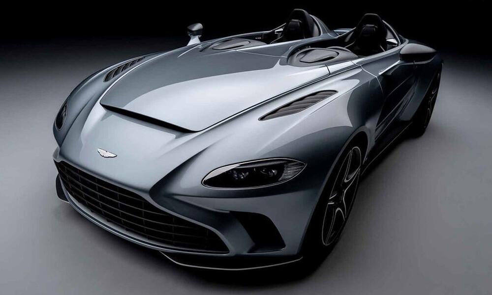 Η διπλή επιρροή της Aston Martin V12 Speedster