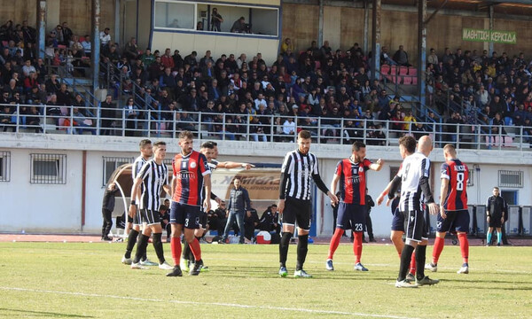 Football League: «Διπλό»… ανόδου τα Τρίκαλα στην Ιεράπετρα (videos)