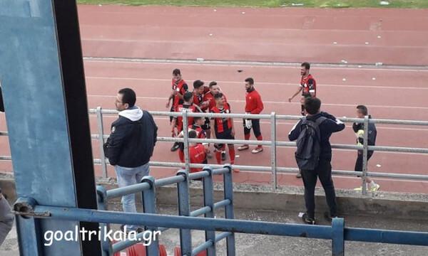 ΑΟ Τρίκαλα: Τρελό γλέντι των παικτών στα αποδυτήρια (video)