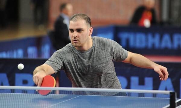 Πινγκ πονγκ: Αποκλείστηκε στους «16» του Ευρωπαϊκού πρωταθλήματος U21 ο Σγουρόπουλος