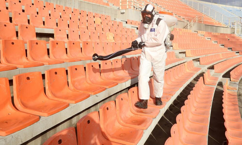 Κεκλεισμένων των θυρών όλοι οι αγώνες στην Ελλάδα για 2 εβδομάδες λόγω κορωνοϊού!