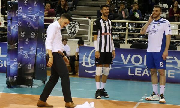 Volley League: Καθυστέρηση στο ΠΑΟΚ-Ηρακλής επειδή… στάζει η οροφή (photos)