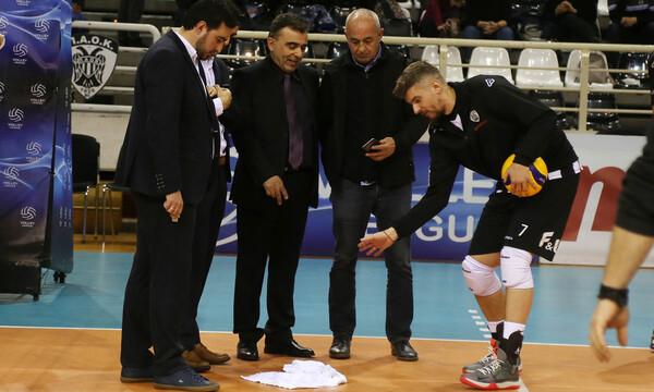 Volley League: Οριστική η αναβολή του ΠΑΟΚ-Ηρακλής