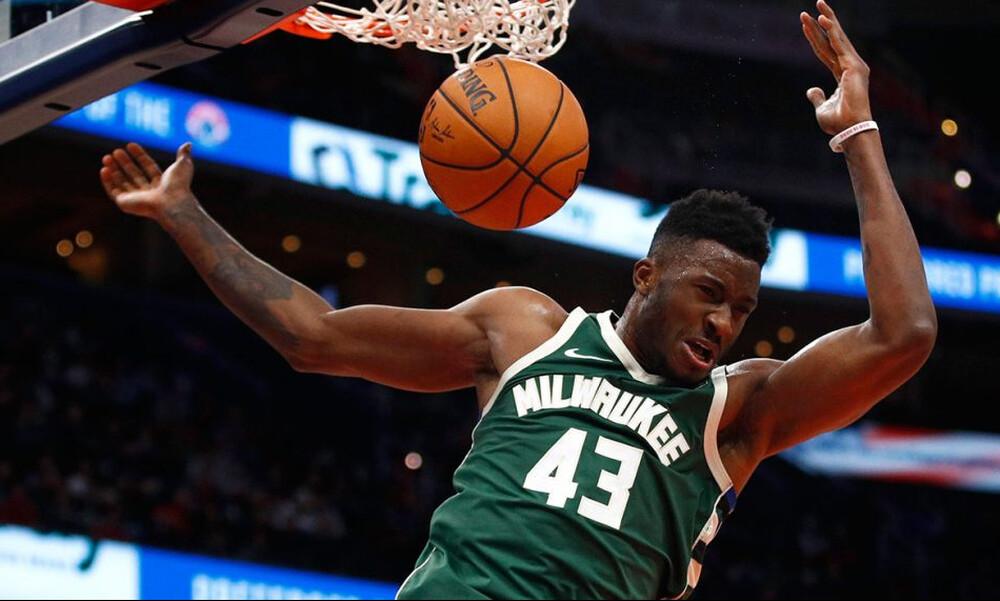 NBA: Με Θανάση Αντετοκούνμπο το Top-5 (video)