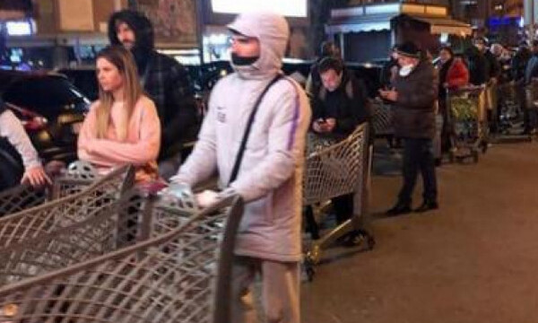 Koροναϊός: Παίκτες της Νάπολι έτρεξαν στο σούπερ μάρκετ για προμήθειες (pics)