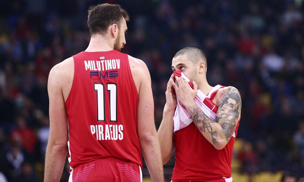 Ολυμπιακός: Εκτός με Αρμάνι οι Μιλουτίνοφ, Κόνιαρης