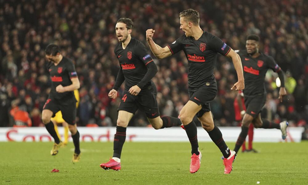Λίβερπουλ-Ατλέτικο Μαδρίτης 2-3: Στους «8» με την υπογραφή του Γιορέντε (videos)