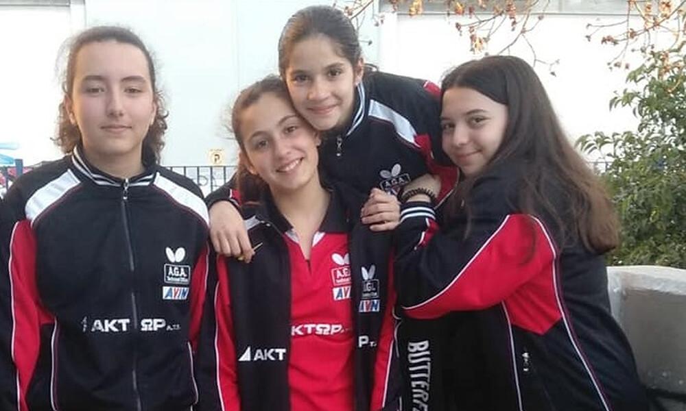 Οι ομάδες που πρωταγωνίστησαν στα τοπικά διασυλλογικά πρωταθλήματα πινγκ πονγκ