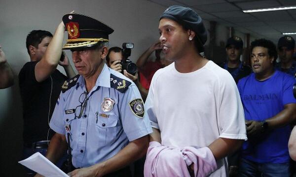 Παραμένει στη φυλακή ο Ροναλντίνιο
