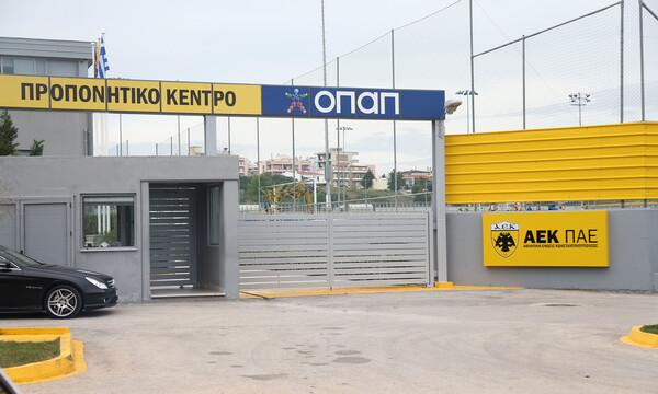 AEK: Απολύμανση στα Σπάτα και «παρών» από τους παίκτες