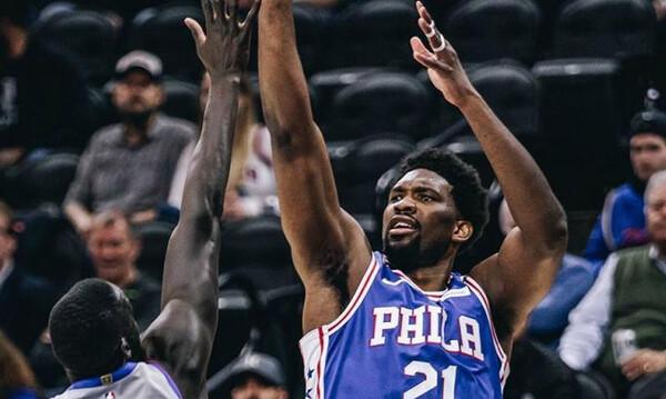 NBA: Ξέφυγε ο Εμπίντ - Επικό μαλλί (photos)