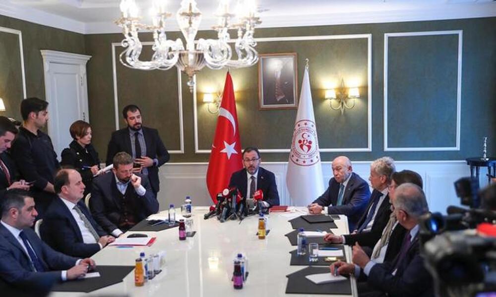 Κορονοϊός: «Λουκέτο» και στα πρωταθλήματα της Τουρκίας