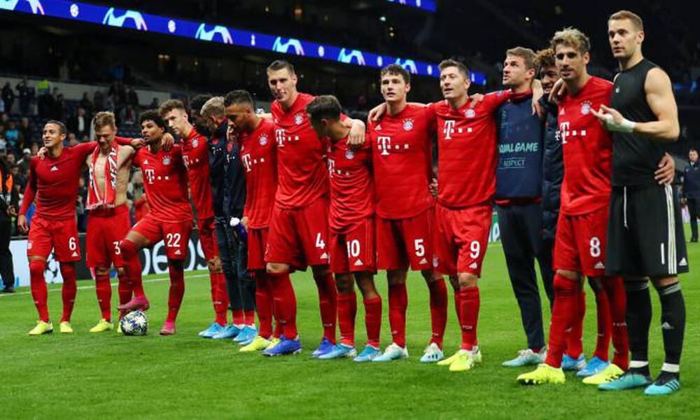 Μπάγερν Μονάχου: Χάρισαν το 20% του μισθού τους παίκτες και διοίκηση