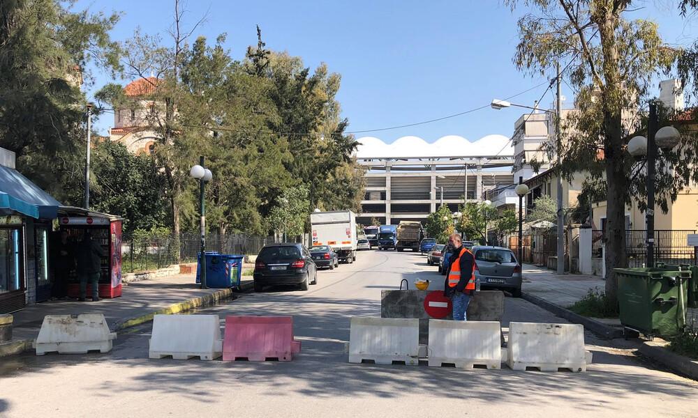 ΑΕΚ: Άρχισαν οι εργασίες για τη υπογειοποίηση (photos)