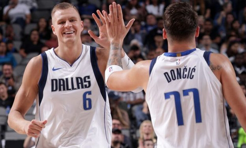 NBA: Η απίθανη μίμηση των Ντόντσιτς-Πορζίνγκις (video)