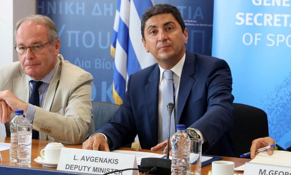 Αυγενάκης: «Ανοιχτό το ενδεχόμενο διακοπής πρωταθλημάτων»