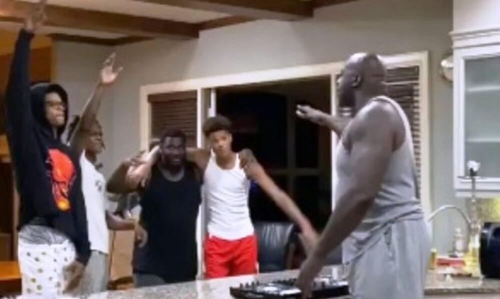 NBA: Η καραντίνα έκανε τον Σακίλ... DJ (video)