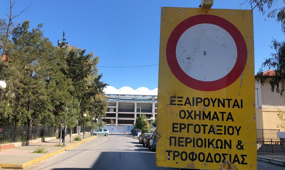 ΑΕΚ: «Θωρακίστηκε» ο χώρος γύρω από την «Αγια-Σοφιά» (photos)
